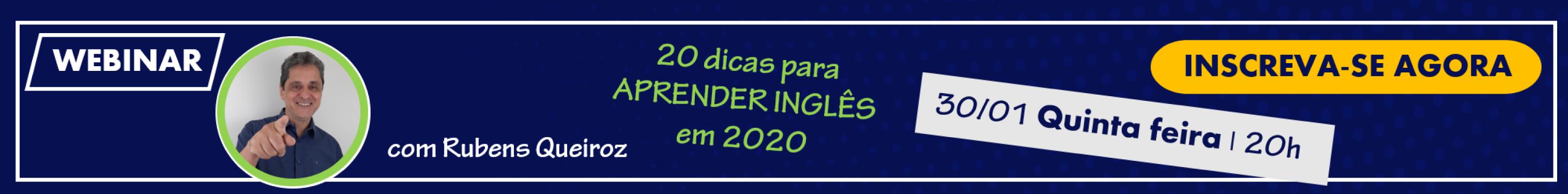 20 dicas para aprender inglês em 2020