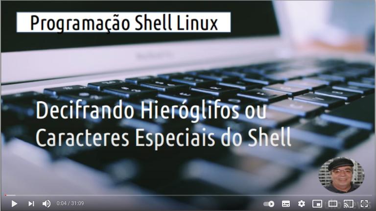 Video: Caracteres Especiais do Shell